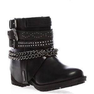 Les Tropéziennes par M Belarbi Lapaz - Boots - en cuir noir