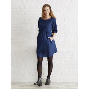Colline Umstandskleid aus Baumwolle, Jeans-Look jeansblau Größe 32
