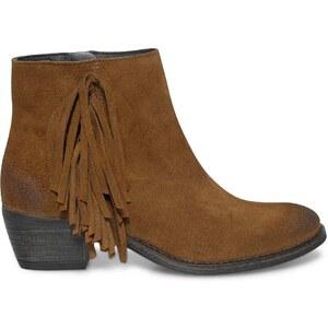 Eram boots camel à franges