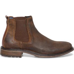 Chelsea boots Get U croûte de cuir marron