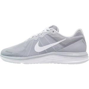 Nike Performance DUAL FUSION X 2 Laufschuh Neutral wolf grey/white/pure platinum/reflect silver