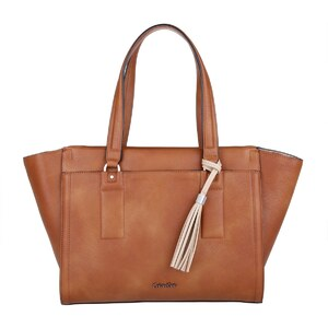 Calvin Klein Sacs portés main, Robyn Essential Large Tote Cognac en cognac