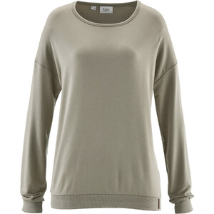 bpc bonprix collection Sweat-shirt gris manches longues femme - bonprix