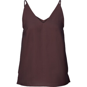BODYFLIRT Top en chiffon violet femme - bonprix