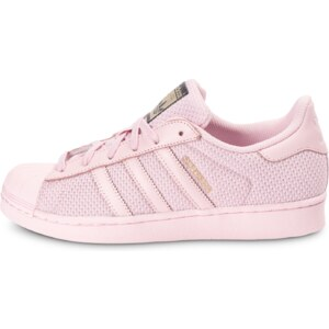 adidas Superstar Nylon Rose Baskets/Tennis Enfant