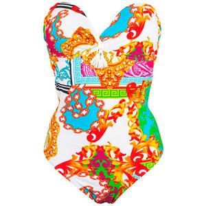 Dag Adom Maillots de bain Maillot de bain une pièce bustier multicolore