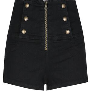 Tally Weijl Short Taille Haute à Boutons