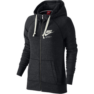 Nike Damen Sweatjacke mit Kapuze Gym Vintage FZ Hoodie