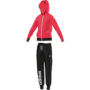 adidas Performance Girls Trainingsanzug Hooded Polyester Tracksuit CH