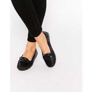 ASOS - MASTER - Chaussures plates - Noir