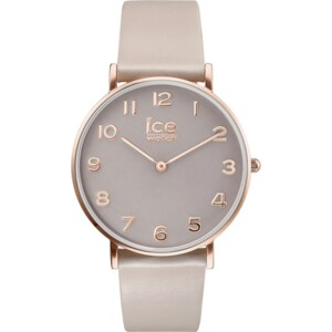 Montre Ice-Watch City Tanner - Taupe Rose Gold 36mm