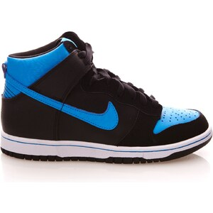 Nike Dunk High - Baskets en cuir mélangé - bicolore