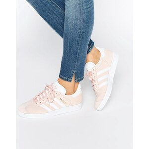 adidas Originals - Gazelle - Baskets en daim - Rose - Rose
