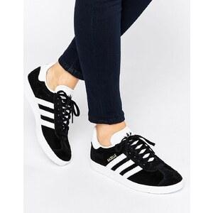 adidas Originals - Gazelle - Baskets en daim - Noir - Noir