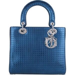 Christian Dior Sacs portés main, Lady Dior Medium Tote Bleu Roi en bleu