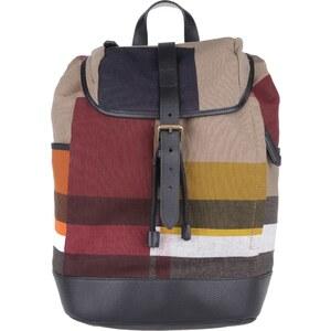 Burberry Sacs à Bandoulière, Colour Block Print Canvas Drifton Small Backpack Multicolour en beige