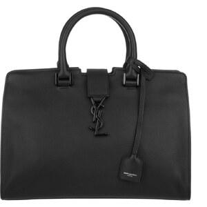Saint Laurent Sacs portés main, Monogramme Small Cabas Tote Matte Black en noir