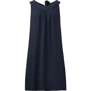 Street One Crinkle-Chiffon-Kleid Leni - blau, Damen