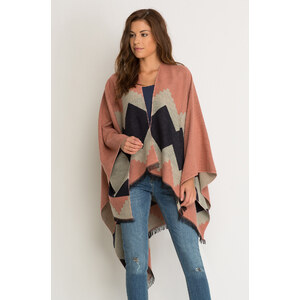 Orsay Poncho mit Geo-Muster