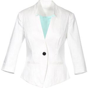 BODYFLIRT Blazer langarm figurbetont in weiß für Damen von bonprix