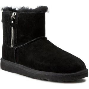 Schuhe UGG AUSTRALIA - W Classic Mini Double Zip 1009861 Black