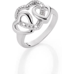bpc bonprix collection Ring Herz in silber für Damen von bonprix