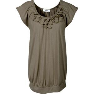 BODYFLIRT Shirt Kurzarm in grün für Damen von bonprix