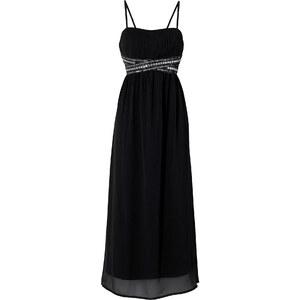 BODYFLIRT Kleid figurumspielend in schwarz von bonprix