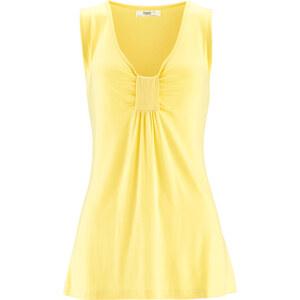 bpc bonprix collection Shirt-Tunika ohne Ärmel in gelb für Damen von bonprix