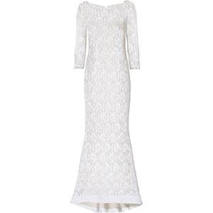 Kleid 3/4 Arm in weiß von bonprix