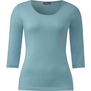 Street One 3/4-Arm Shirt May - stone jade, Damen