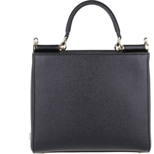 Dolce&Gabbana Sacs à Bandoulière, Vitello St. Dauphine Mini Bag Nero en noir