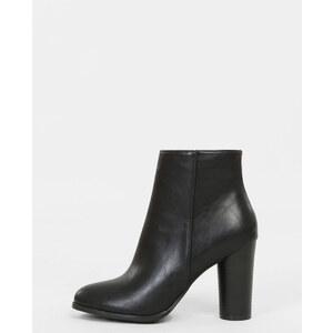 Boots talon rond noir, Femme, Taille 36 -PIMKIE- MODE FEMME