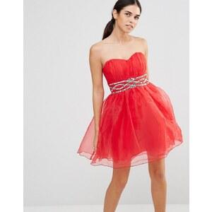 Laced In Love - Robe de bal de fin d'année - Rouge