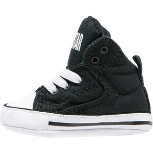 Converse CHUCK TAYLOR ALL STAR FIRST STAR HIGH STREET Krabbelschuh black/white