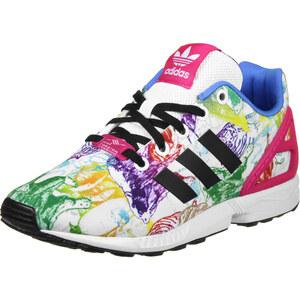 adidas Zx Flux K W chaussures white/black/pink