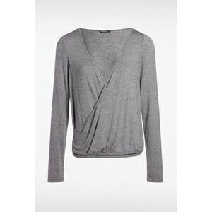 T-shirt femme chiné Gris Elasthanne - Femme Taille L - Bonobo