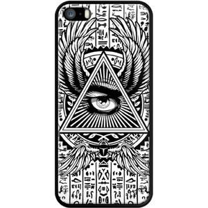 The Kase Gangtoyz - Coque pour iPhone 5/5S et SE - noir
