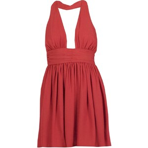 Les Petites Chaudières Robe baby-doll - rouge