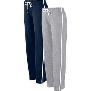 bpc bonprix collection Lot de 2 pantalons de jogging, longs bleu femme - bonprix