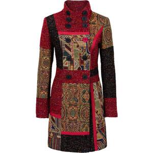 RAINBOW Manteau multi-matière et motif rouge manches longues femme - bonprix