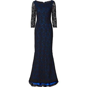 Kleid 3/4 Arm in blau von bonprix