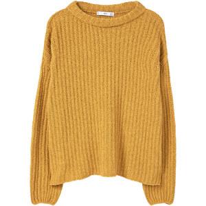 MANGO Pull-Over Texturé Coton