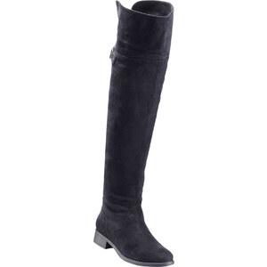 RAINBOW Cuissardes noir chaussures & accessoires - bonprix