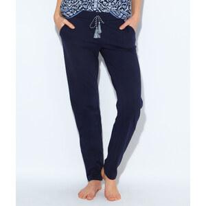 Pantalon, détail ceinture à pompons Etam