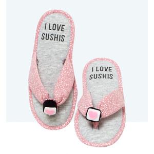 Tongs chaussons, détail maki 3D Etam