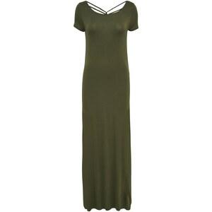 ONLY Rückenfreies Kleid mit kurzen Ärmeln