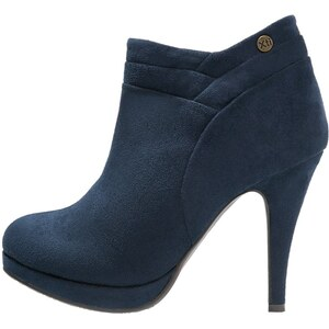 XTI Plateaustiefelette navy
