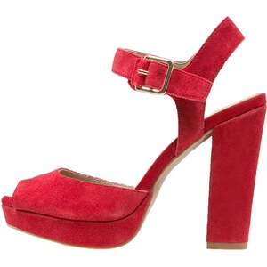 Pier One High Heel Sandaletten red