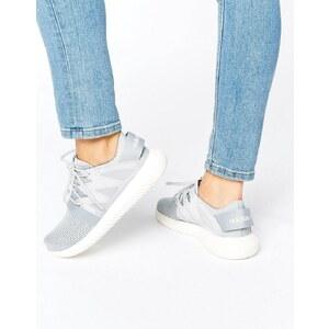 adidas Originals - Tubular - Graue Netz-Turnschuhe - Schwarz
